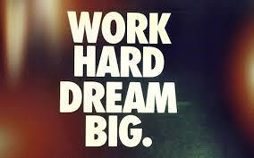 Dream Big, Work Hard, Make It Happen — Jen Carrington